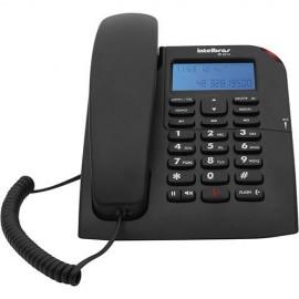 TELEFONE COM FIO TC 60 ID C/ IDENTIFICADOR DE CHAMADAS PRETO INTELBRAS