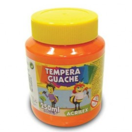 TINTA GUACHE 250ML LARANJA REF 517