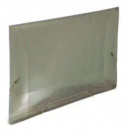 PASTA ABA ELASTICO PLASTICA 1/2 OFICIO FUME REF 1020