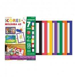 CREATIVE PAPER A3 MOLDURA 7 CORES 35FLS 110GRS NOVAPRINT