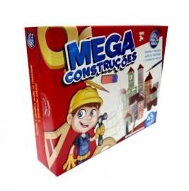 BRINQUEDO MEGA CONSTRUCOES MADEIRA 45 PCS REF 7394
