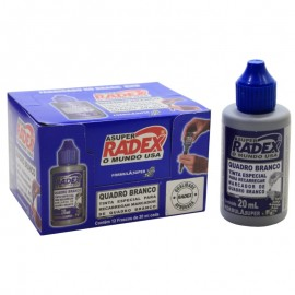 TINTA REABASTECEDOR  PINCEL QUADRO BCO AZUL 20ML RADEX
