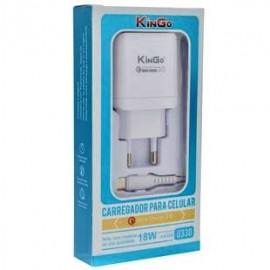 CARREGADOR USB 3.0A ULTRA RAPIDO COM 1 ENTRADA TYPE C REF U330