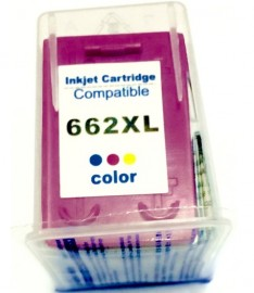 CARTUCHO HP 662XL COMPATIVEL COLORIDO 10ML