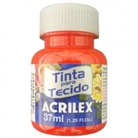 TINTA TECIDO FOSCO VERMELHO 37ML REF 507