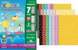 CREATIVE PAPER TEXTURA 7 CORES 36 FLS 180GRS 230X320MM