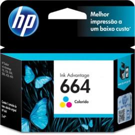 CARTUCHO HP 664 F6V28AB COLORIDO 2 ML
