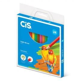 LAPIS COR 24C CIS PLASTIC