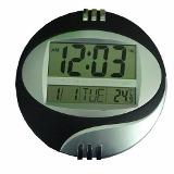 RELOGIO DE PAREDE DIGITAL REF 6870  LCD 19.5 CM DIAMETRO