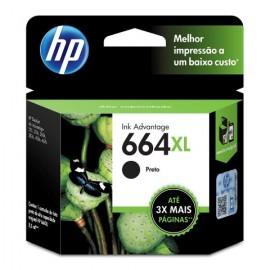 CARTUCHO HP 664XL F6V31AB PRETO 8,5 ML