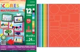 CREATIVE PAPER MULTIFORMAS 12 CORES 24 FLS 110GRS 230X320MM