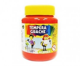 TINTA GUACHE 250ML VERMELHO REF 507