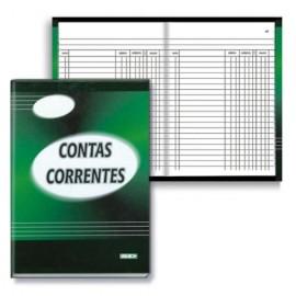 LIVRO CONTA CORRENTE 50FLS