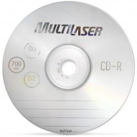 CD-R PINO 700MB 52X MULTILASER