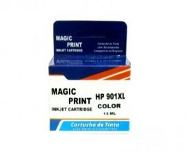 CARTUCHO HP 901XL COMPATIVEL COLORIDO 13ML MAGIC PRINT