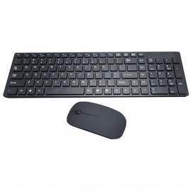 TECLADO COMBO USB SEM FIO REF BK-S1000
