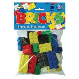BRINQUEDO BRINCKS BLOCO DE MONTAGENS 29 PCS REF 4745