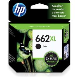 CARTUCHO HP 662XL CZ105AB PRETO 6,5 ML