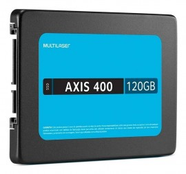 HD SSD 120GB 2.5 AXIS 400 MULTILASER
