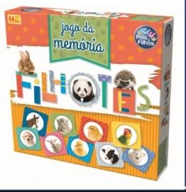 JOGO DA MEMORIA FILHOTES C/40 PCS REF 7268 BRINQUEDO