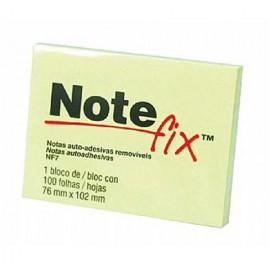 BLOCO ADESIVO 76X102 AMARELO NOTEFIX NF7
