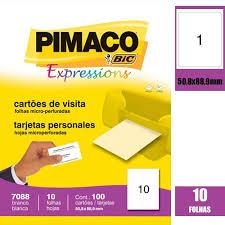 CARTAO MS PIMACO CX100 COD 7088