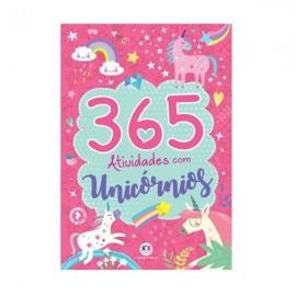 LIVRO INFANTIL 365 ATIVIDADES UNICORNIOS