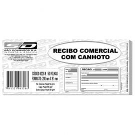 RECIBO COM CANHOTO