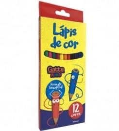 LAPIS COR 12C GATTE
