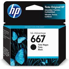 CARTUCHO HP 667 3YM79AL PRETO 2ML