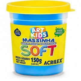 MASSA MODELAR 150 GRS AZUL REF 109 ACRILEX
