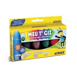 GIZ CERA  6C MEU PRIMEIRO GIZ ACRILEX REF 9506