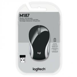 MOUSE USB SEM FIO M187 OPTICO PRETO