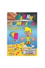 CREATIVE PAPER A4 LUMI 5 CORES 25FLS 120GRS OFFPINHO