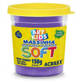 MASSA MODELAR 150 GRS VIOLETA REF 516 ACRILEX