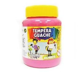 TINTA GUACHE 250ML ROSA REF 537