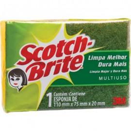 ESPONJA SCOTCH BRITE 110X75 MM