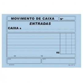 MOVIMENTO DE CAIXA ENTRADA AZUL BL 100FLS
