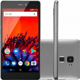 TELEFONE CELULAR MS60F PLUS 4G SMARTPHONE PRETO/PRATA DUAL CHIP DUAL 2G RAM CAMERA 8 MP + 8 MP 16GB REF NB715
