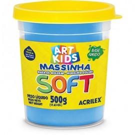 MASSA MODELAR 500 GRS AZUL REF 109 ACRILEX
