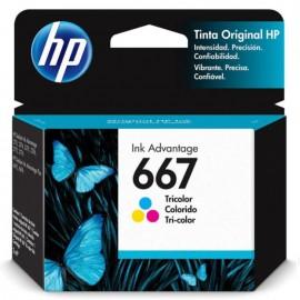 CARTUCHO HP 667 3YM78AL COLORIDO 2ML