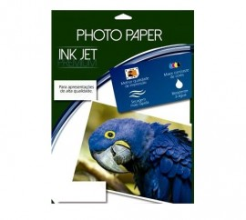 PAPEL FOTO GLOSSY PAPER ADESIVADO 130GRS