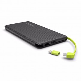 CARREGADOR PORTATIL POWER BANK 5000 NAH COM SENSOR DE MOVIMENTO