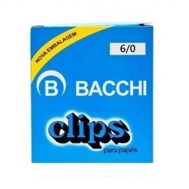 CLIPS  6/0 CAIXA 25 PECAS BACCHI