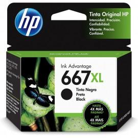 CARTUCHO HP 667XL 3YM81AL PRETO 8,5 ML