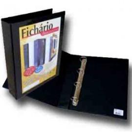 FICHARIO PERSONALITE OF 4CM LOMBA PRETO REF3340 4 ARGOLAS