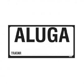 CARTAZ ALUGA-SE FLS