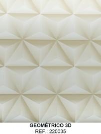 PLASTICO ADESIVO GEOMETRICO 3D REF 220035