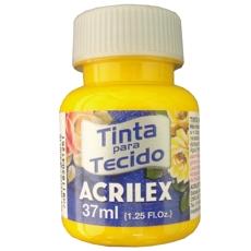 TINTA TECIDO FOSCO AMARELO 37ML REF 505