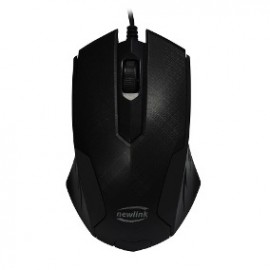 MOUSE USB  MO228 GRID PRETO NEWLINK